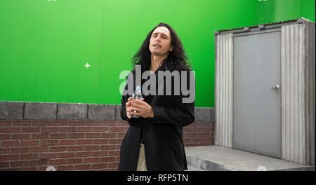 Original film title: THE DISASTER ARTIST. English title: THE DISASTER ARTIST. Year: 2017. Director: JAMES FRANCO. Stars: JAMES FRANCO. Credit: GOOD UNIVERSE/NEW LINE CINEMA/POINT GREY PIC/RABBITBANDINI P / MINTZ, JUSTINA / Album - Stock Photo