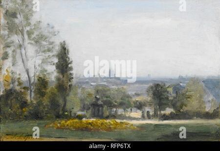 Stanislas Lpine (French, 1835-92), Le Parc Montsouris (1878-80).jpg - RFP6TX