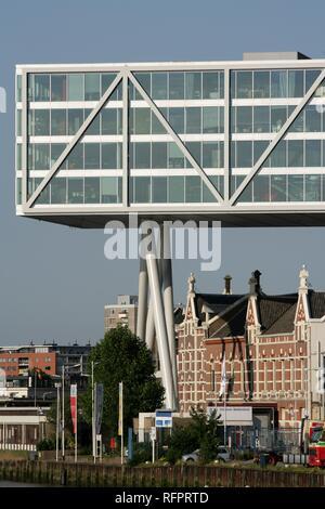 Unilever Office building 'DeBruk', Rotterdam, Netherlands - Stock Photo