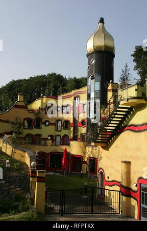 DEU, Germany, Essen : Ronald McDonald Hundertwasser house Essen. A temporary home for familys of serious ill children, who are - Stock Photo