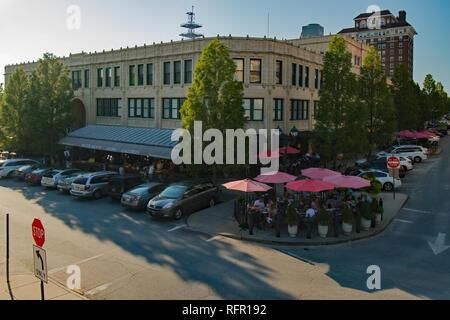 Grove Arcade in Asheville - Stock Photo