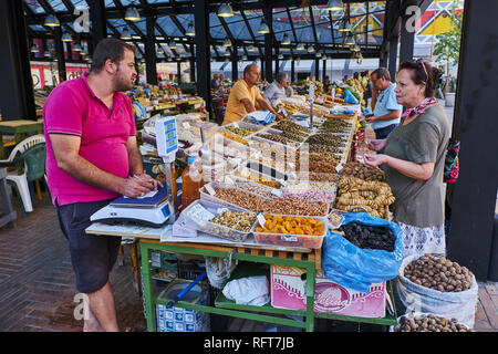 Markata e Pishkut market, Tirana, Albania, Europe - Stock Photo