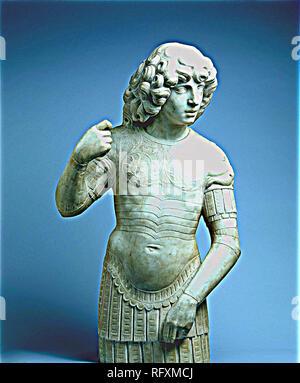 A Young Warrior, Tullio Lombardo Poster.jpg - RFXMCM Stock Photo