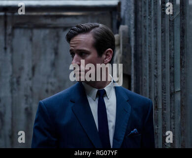 Original film title: FINAL PORTRAIT. English title: FINAL PORTRAIT. Year: 2017. Director: STANLEY TUCCI. Stars: ARMIE HAMMER. Credit: OLIVE PRODUCTIONS/POTBOILER PRODUCTIONS/RIVERSTONE PICTURES / Album - Stock Photo