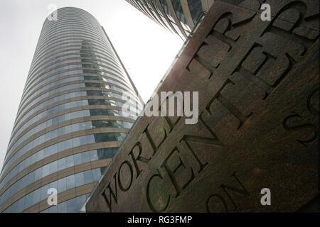 LKA, Sri Lanka : Capital Colombo, City Center, Business district, World Trade Center Buildings. - Stock Photo