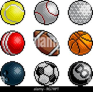 Pacman And Ghosts 80s Computer Game Icons Set Stock Vector