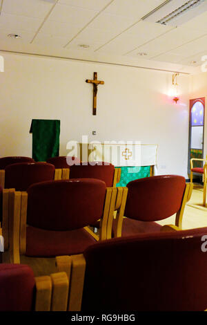 Chapel at St George's Hospital Tooting London UK - Stock Photo