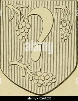 . Bulletins de l'Académie royale des sciences, des lettres et des beaux-arts de Belgique. Learned institutions and societies; Science. FiG. 10. iO. Maçons et charpentiers, y compris les mairniers ou marchands de bois. Les autres quarts étaient les tailleurs de pierres, les briquetiers, les chaufourniers, les manou- vriers, les scieurs, les escriniers (menuisiers), les cou- vreurs, les charrons, les entretailleurs (tailleurs d'images), les tourneurs, etc. Leur patronne était sainte Barbe, pro- bablement à cause de sa tour légendaire, qui était Åuvre de maçon.. Fifi. il. 11. Vignerons. â  - Stock Photo