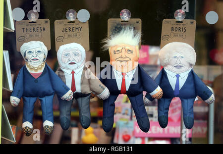 Pic shows: Political muppets turned into dog toys Stuffed