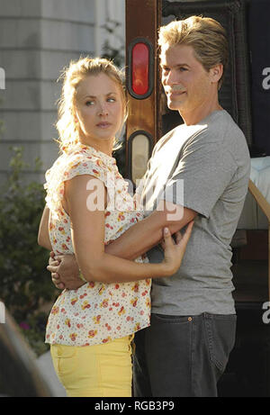 DREW PETERSON: UNTOUCHABLE 2012 Sony Television film with Rob Lowe and Kaley Cuoco - Stock Photo