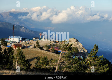 Crimean Mountains in Okhotnyche, Crimea, Ukraine. October 1st 2008, the highest located settlement in Crimea at an elevation of 1160 metres © Wojciech - Stock Photo