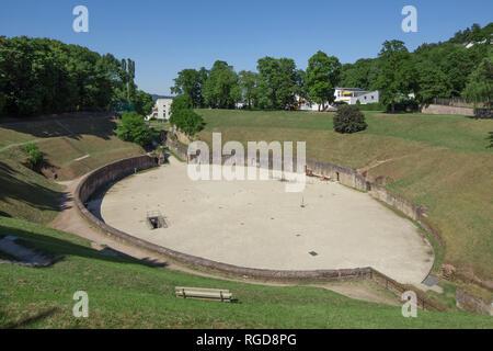 Roman Amphitheater, Trier. Rhineland-Palatinate, Germany, Europe I Römisches Amphitheater, Trier. Rheinland-Pfalz, Deutschland, Europa I - Stock Photo