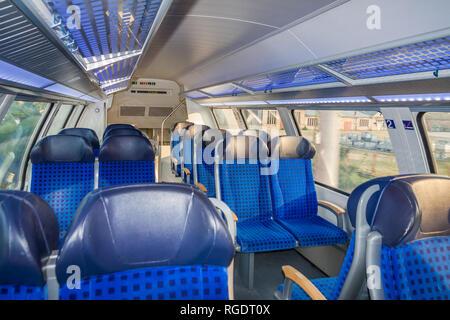 Inside train - Stock Photo