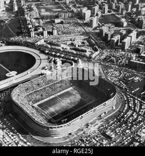 Italy, Lombardy, Milan, the San Siro Stadium, 1971 - Stock Photo