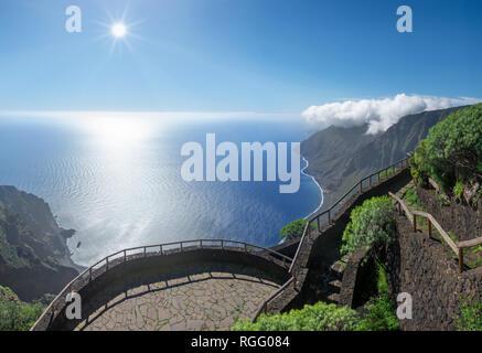 El Hierro - Viewpoint Mirador de Isora - Stock Photo