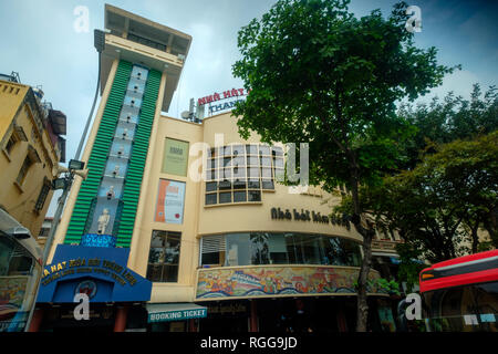 Thang Long water puppet theatre - Stock Photo