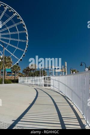 Plyler Park Myrtle Beach South Carolina USA - Stock Photo