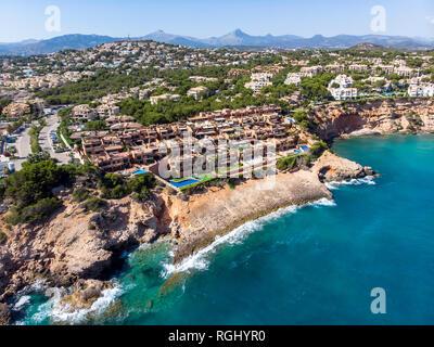 Spain, Balearic Islands, Mallorca, El Toro, upmarket apartments - Stock Photo