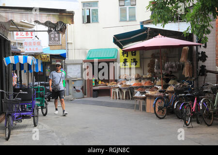 Tai O Fishing Village, Lantau Island, Hong Kong, China, Asia - Stock Photo