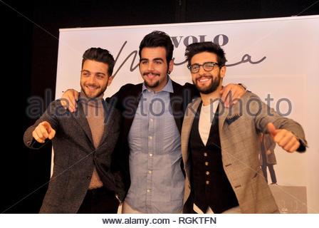 il volo presents the new album - musica - milano 29-01-2019 - Stock Photo