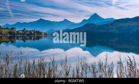 Germany, Bavaria, East Allgaeu, Fuessen, - Stock Photo