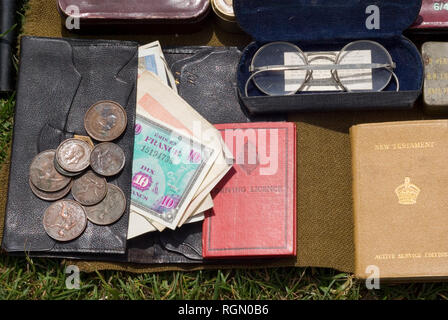 WWII Items - Stock Photo