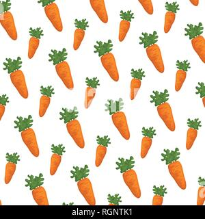 carrots fresh pattern background - Stock Photo