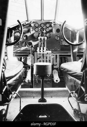 airplane savoia marchetti s.71, 1930-1940 - Stock Photo