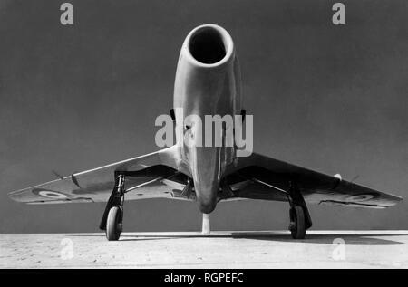 warplane ambrosini sagittario, 1953 - Stock Photo