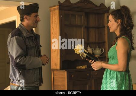 WELCOME TO MARWEN, STEVE CARELL , LESLIE MANN, 2018 - Stock Photo