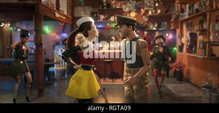 WELCOME TO MARWEN, LESLIE MANN , STEVE CARELL, 2018 - Stock Photo