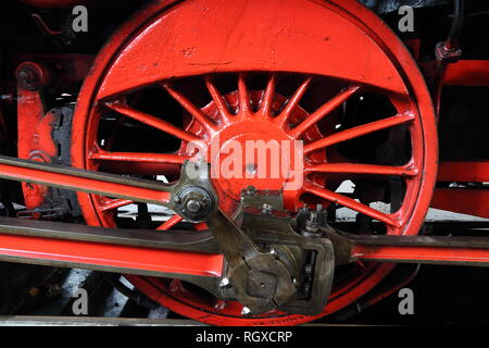 Steamer wheel - Stock Photo