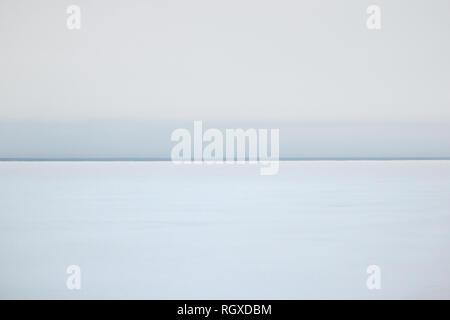 Minimalism in nature, winter background - Stock Photo