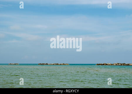 San Benedetto del Tronto, Adriatic Sea, Ascoli Piceno, Italy - Stock Photo