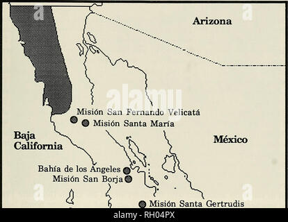Bahia De Los Angeles Map.Bahia De Los Angeles And Sierra Las Animas Sea Of Cortez Baja