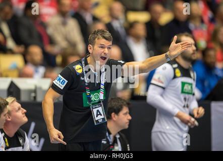 coach Christian PROKOP (GER) handball world cup 2019, from 10.01. - 27.01.2019 in Germany/Denmark. | usage worldwide - Stock Photo