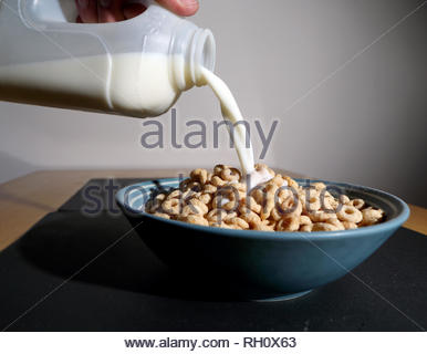 File photo dated 19/02/18 of breakfast cereal. The theory that breakfast is the most important meal of the day - including for dieters - may not be true, research suggests. - Stock Photo