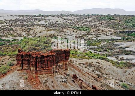 Olduvai Gorge, Tanzania - Stock Photo