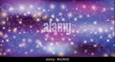 fantastic galaxy rectangle background blurred glowing circles with flowing and liquid concept purple neon magic banner night starry sky wallpaper rh2rhd