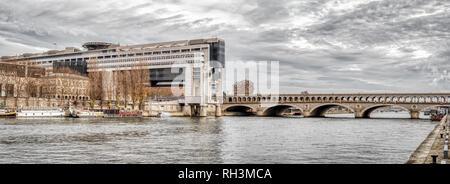 Pont de Bercy - Paris, France - Stock Photo