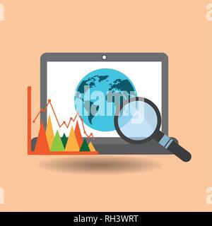 data center technology - Stock Photo