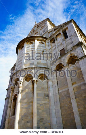 Pisa, Italy - August 21, 2014: Close up of the - Stock Photo
