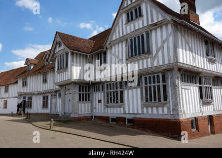 Lavenham Guildhall, Suffolk - Stock Photo