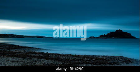 St Michaels Mount, Cornwall - Stock Photo