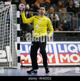 firo: 23.01.2019, Handball: World Cup World Cup Main Round France - Croatia, Croatia Marin Sego, CRO | usage worldwide - Stock Photo