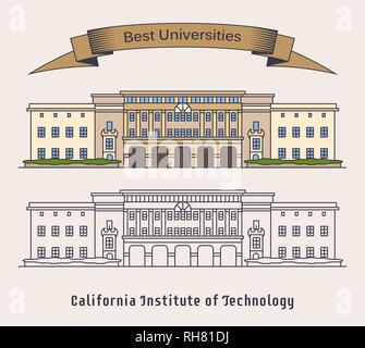 Caltech or California Institute of technology - Stock Photo