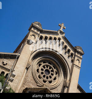 NICE, FRANCE:  Église Saint-Pierre-d'Arène de Nice Church - Stock Photo