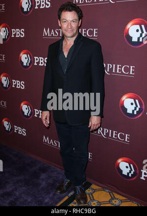 PASADENA, LOS ANGELES, CA, USA - FEBRUARY 01: Dominic West attends the PBS Masterpiece Photocall - 2019 Winter TCA Press Tour - Day 4 held at The Langham Huntington Hotel on February 1, 2019 in Pasadena, Los Angeles, California, United States. (Photo by Xavier Collin/Image Press Agency) - Stock Photo