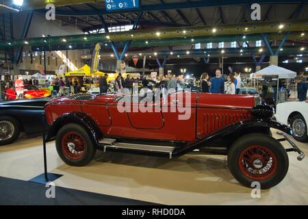 1927 FN Automobile (Fabrique nationale). Retro Málaga 2019. Spain. - Stock Photo