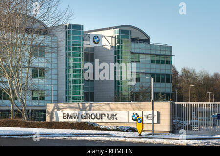 Farnborough head office (offices) of BMW and Mini cars
